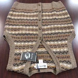 Harley of Scotland 100% wool men's size large vest